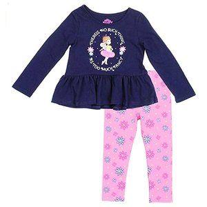 Fancy Nancy Toddler Girls 2-Piece LS Leggings Set